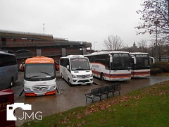 Buses parked in Derry 10/12/19