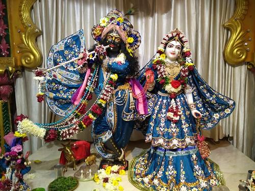 ISKCON Amravati Deity Darshan 10 Jan 2020