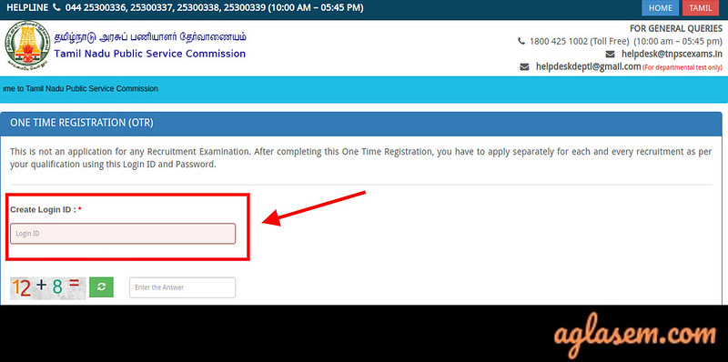 TNPSC Application Form TNPSC Application Form: Fill-Up and Submit at tnpsc.gov.in