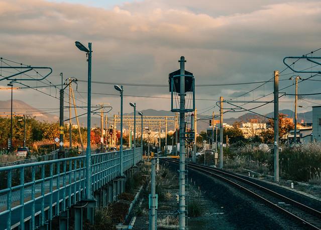 JR Station in Aomori, Japan