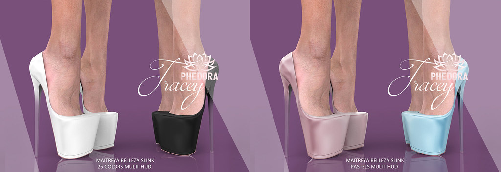 """Phedora. for Collabor88 – """"Tracey"""" Heels ♥"""