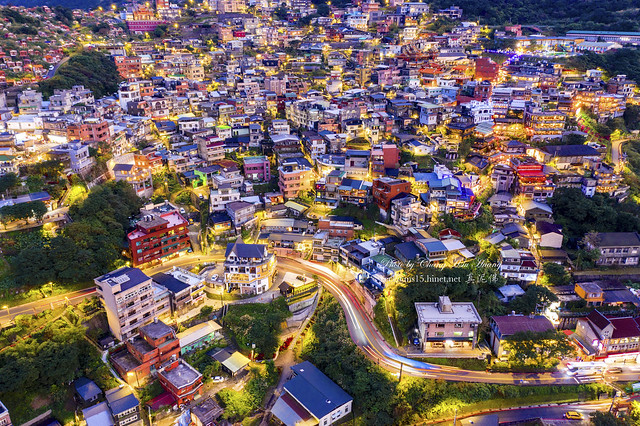 Aerial View of Jiufen  九份