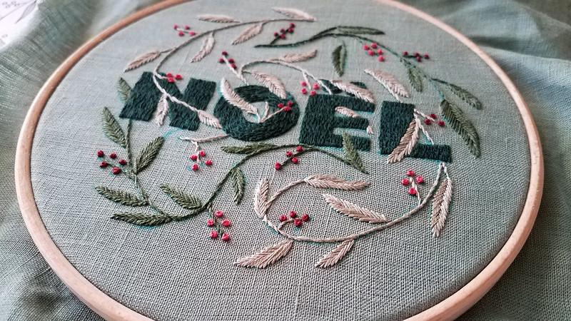 Noel pattern by Slow Evenings on Etsy