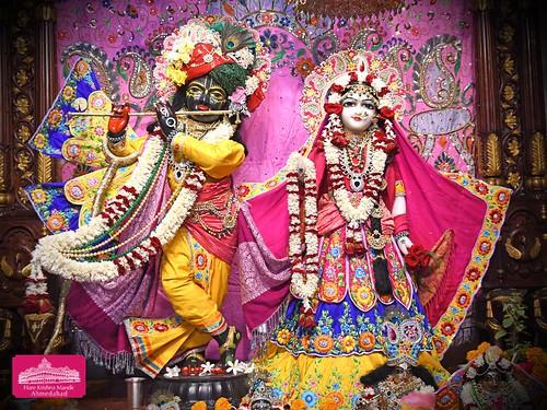 Hare Krishna Temple Ahmedabad Deity Darshan 10 Jan 2020
