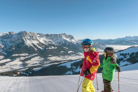 SkiWelt Wilder Kaiser – Brixental: moderní rodinné středisko