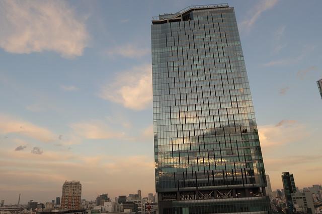 A Tall Building in Shibuya