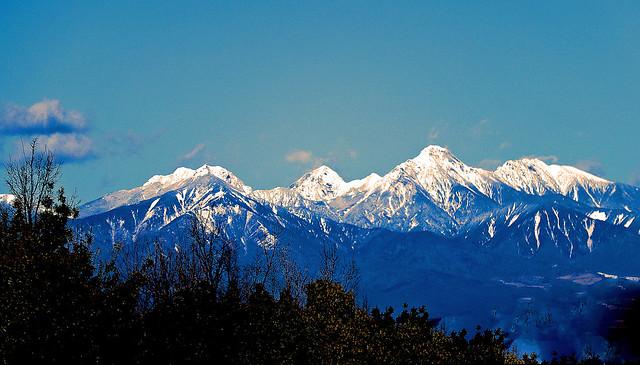 Yatsugatake mountain range:Yamanashi, Japan  八ヶ岳連峰