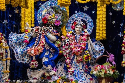 ISKCON Vrindavan Deity Darshan 10 Jan 2020