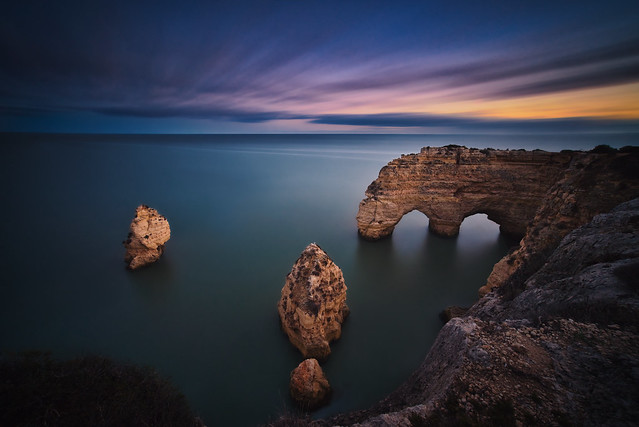 Natural Arch & Sunset