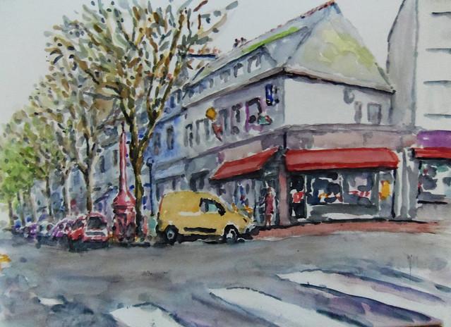 Avenue de la Perriere à Lorient