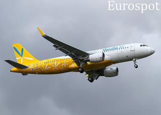 F-WXAI Airbus A320 Vanilla Air