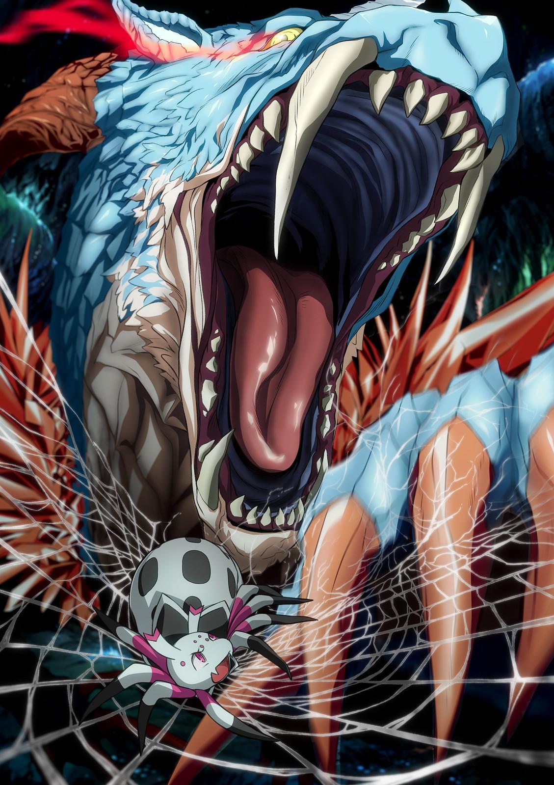 200110 - 輕小說《轉生成蜘蛛又怎樣!》原作者「馬場翁」將在1/31首度台灣簽名會、2020年動畫版公開第一張海報!