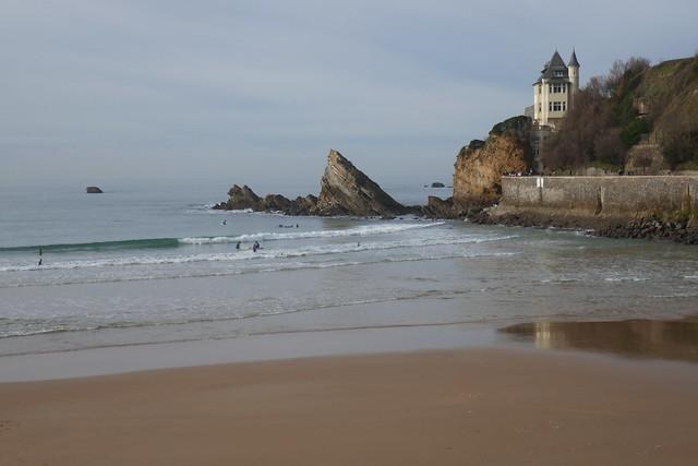 Villa Belza, plage des Basques, Biarritz, Labourd, Pays basque, Pyrénées-Atlantiques, Nouvelle-Aquitaine, France