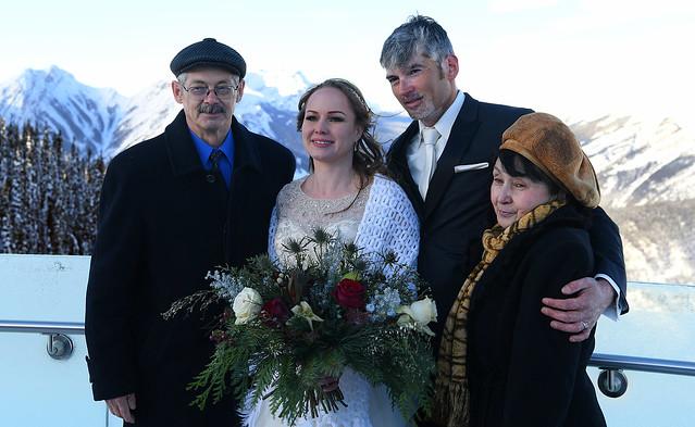 Wedding on Top the Mountain