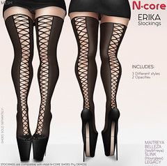 """N-core Special OFF """"ERIKA"""" Stockings"""