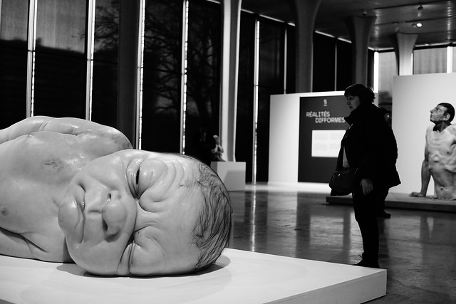 Expo Hyper Realism sculpture