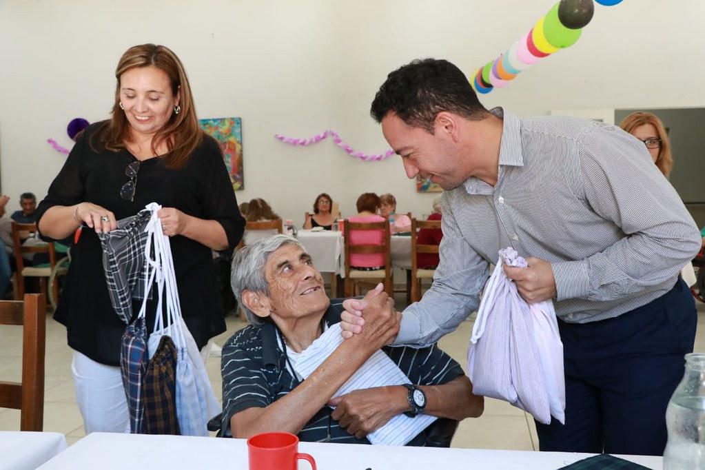 2020-01-10 DESARROLLO HUMANO: Cumpleaños de residentes del Hogar Eva Perón