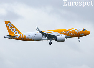 F-WWDA Airbus A320 Neo Fly Scoot