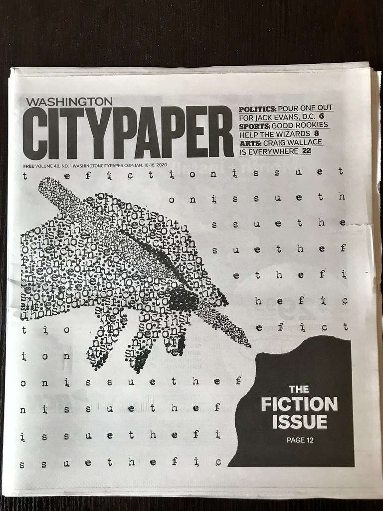 Washington City Paper Fiction Issue 2020