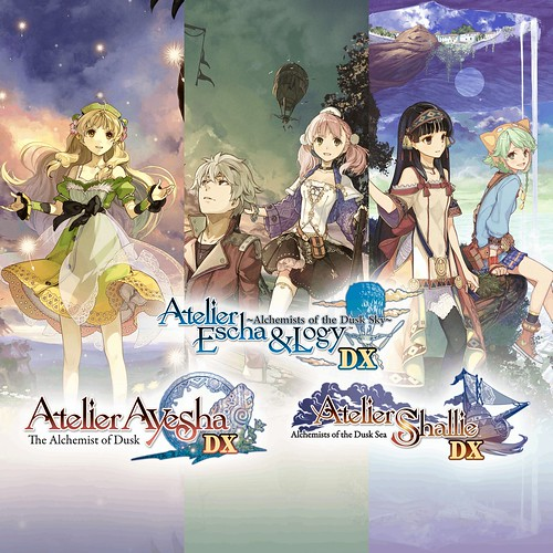 Thumbnail of Atelier Dusk Trilogy Deluxe Pack on PS4