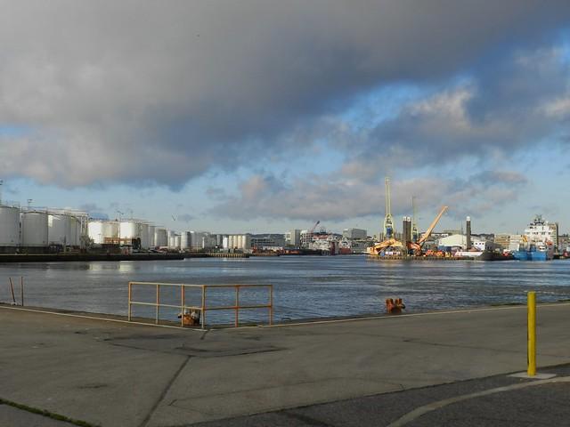 Aberdeen Harbour, Footdee, Aberdeen, Oct 2019