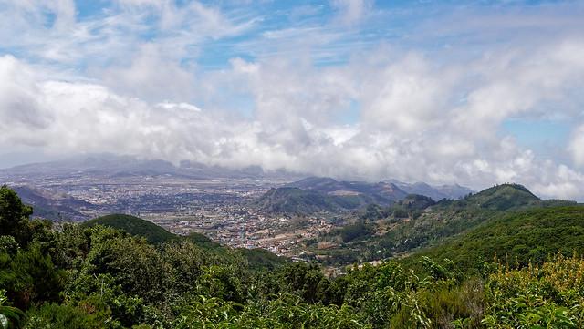 Vue depuis le mirador de Cruz del Carmen