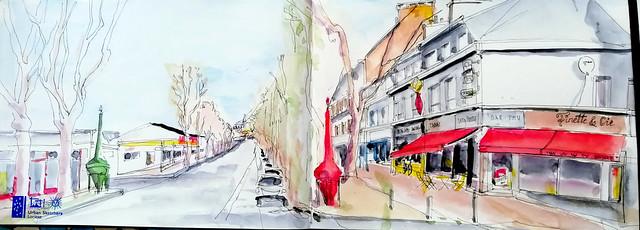 à Lorient. Rue de la Perrière
