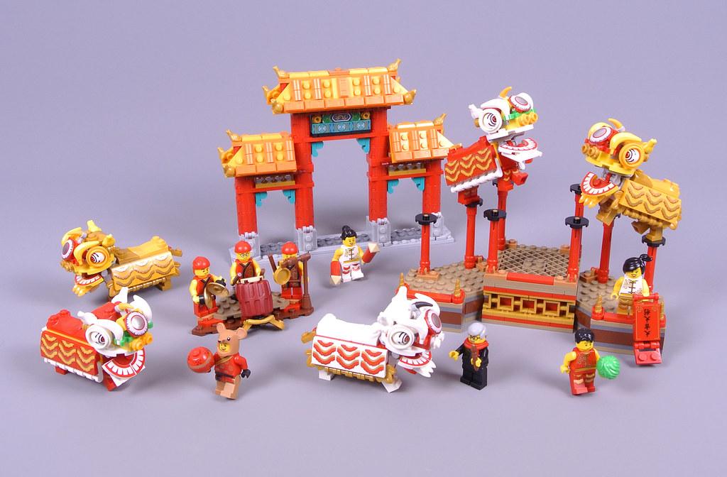 LEGO Seasonal 80104 Lion Dance review