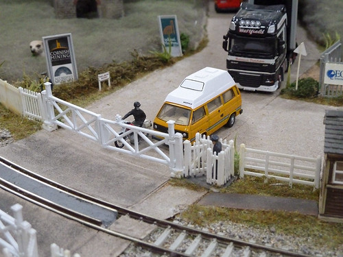 Type 25 at the level crossing