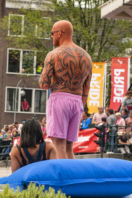 Canal Gay Parade Amsterdam. August 5, 2017. No.DSC_0332d.