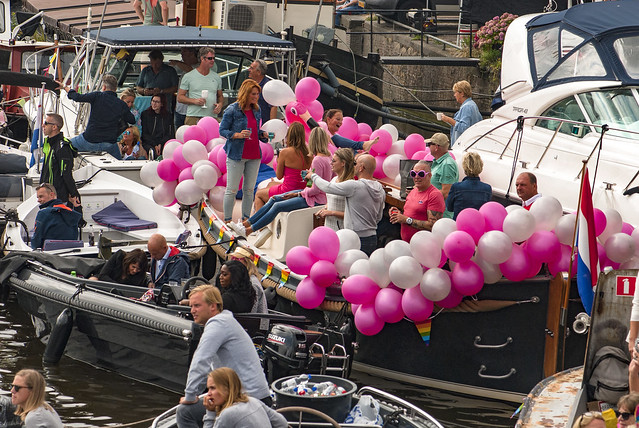 Canal Gay Parade Amsterdam. August 5, 2017. No.DSC_0279.