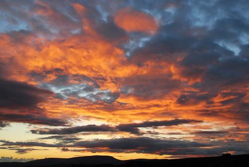 sky sunset ciel coucherdesoleil
