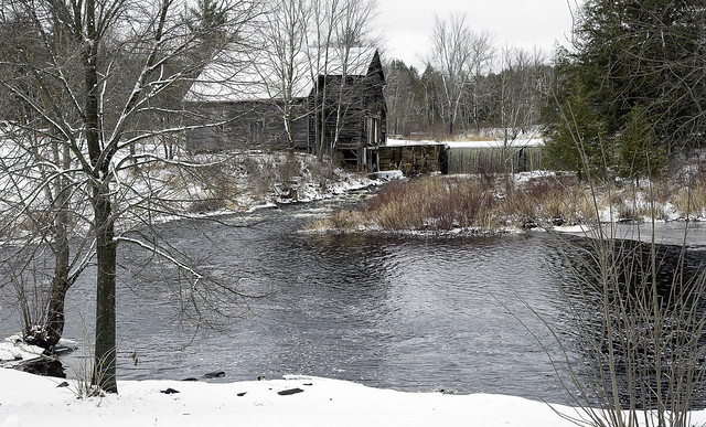 The old mill, Queensborough, Ontario