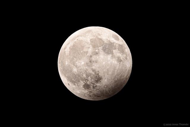 Januari 2020 penumbral lunar eclipse