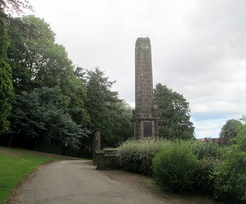 Brechin War Memorial From Side