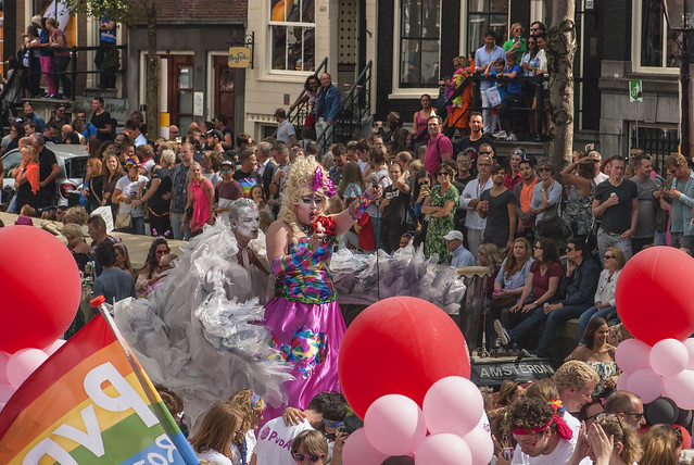 Canal Gay Parade Amsterdam. August 5, 2017. No.400.