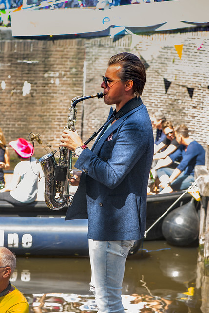 Canal Gay Parade Amsterdam. August 5, 2017. No.DSC_0320.