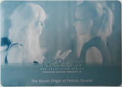 Arrow Season 3 - # The Secret Origin of Felicity Smoak (cyan)