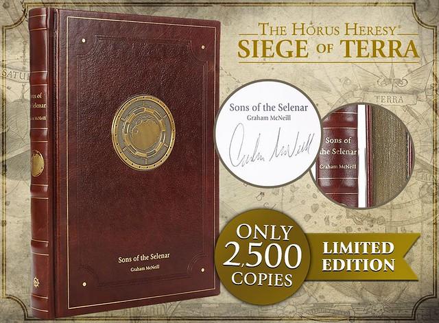 Грэм Макнилл «Ересь Хоруса. Осада Терры: Сыны Селенара» | Siege of Terra: Sons of the Selenar by Graham McNeill