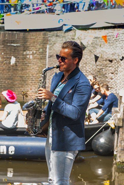 Canal Gay Parade Amsterdam. August 5, 2017. No.DSC_0319.