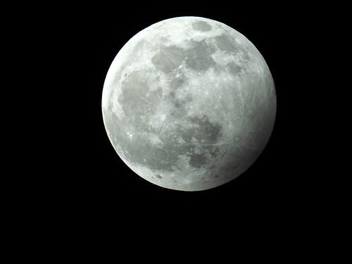 Cavenago di Brianza - Eclissi di Luna del 10-01-2020
