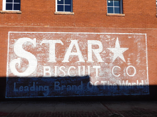 Star Biscuit Company Mural