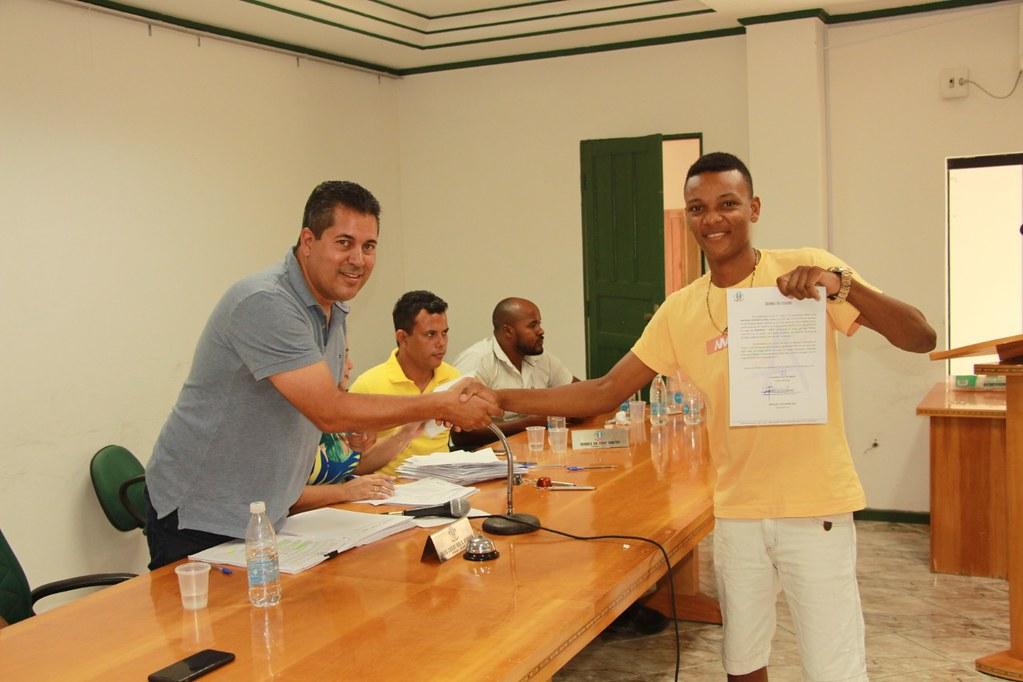 Cerimônia de posse dos candidatos no processo seletivo de Alcobaça (18)