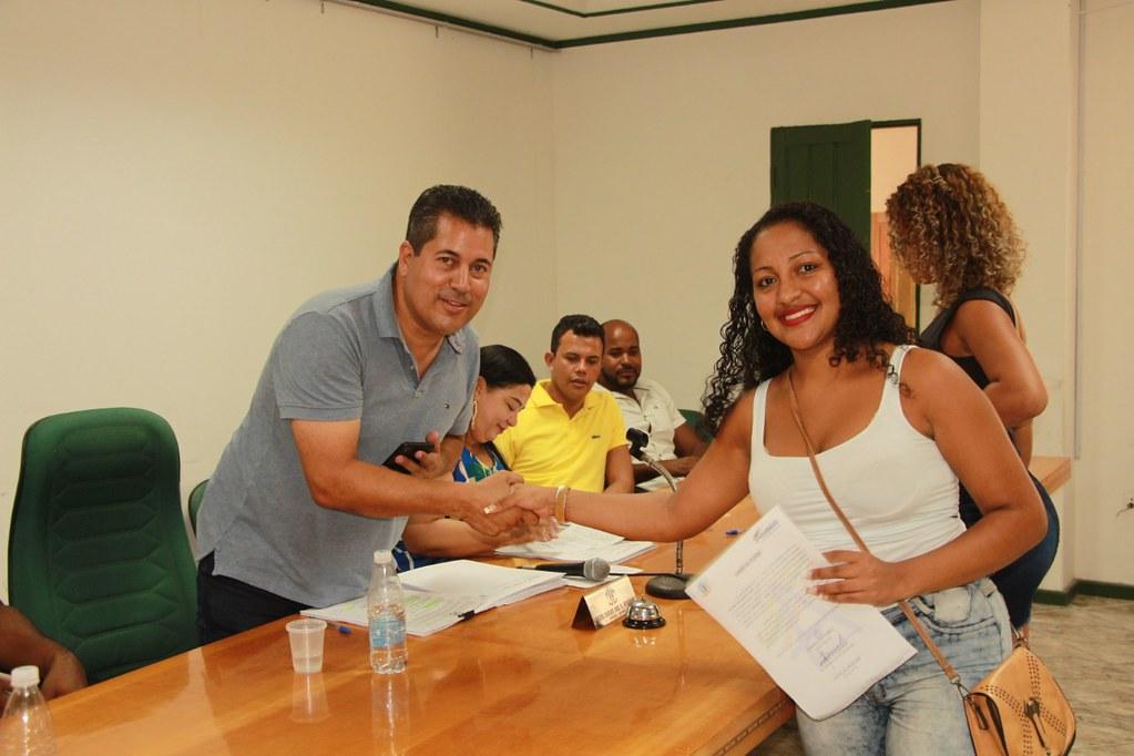 Cerimônia de posse dos candidatos no processo seletivo de Alcobaça (16)