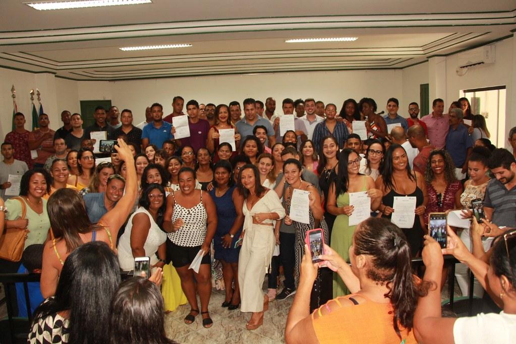 Cerimônia de posse dos candidatos no processo seletivo de Alcobaça (9)