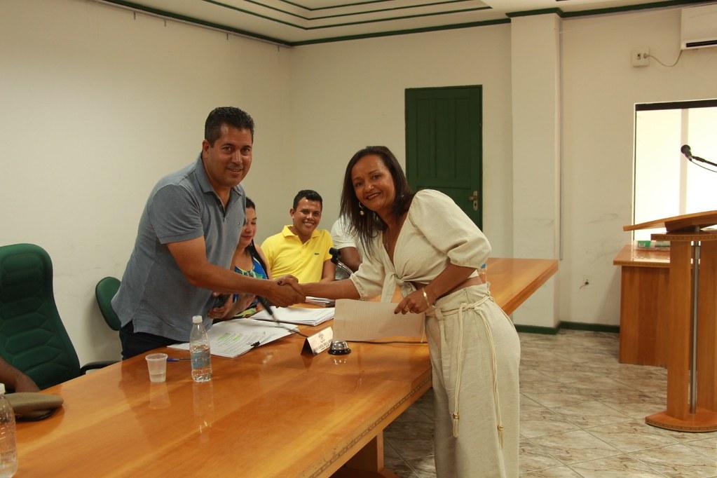 Cerimônia de posse dos candidatos no processo seletivo de Alcobaça (8)