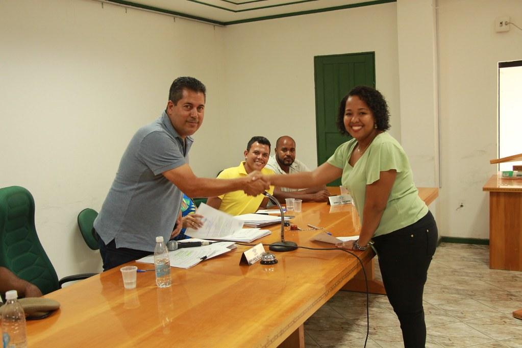 Cerimônia de posse dos candidatos no processo seletivo de Alcobaça (5)