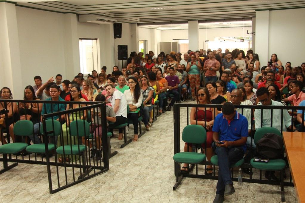 Cerimônia de posse dos candidatos no processo seletivo de Alcobaça (3)