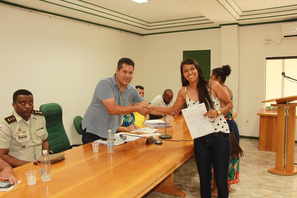 Cerimônia de posse dos candidatos no processo seletivo de Alcobaça (2)