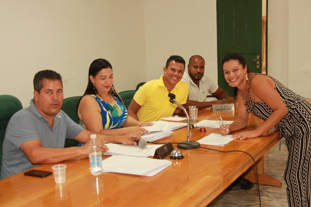 Cerimônia de posse dos candidatos no processo seletivo de Alcobaça (1)